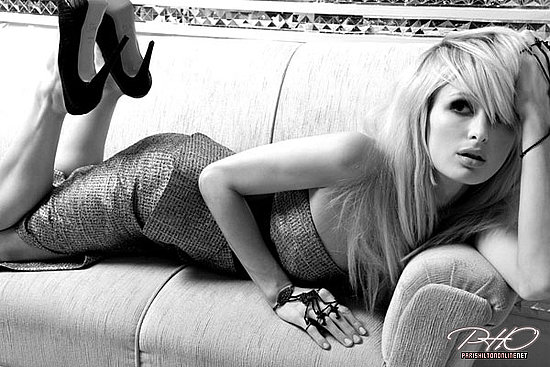 Paris Hilton does Harper's Bazaar Dubai-november 09