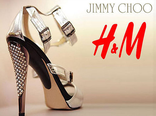 Jimmy choooooooose H&M