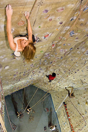 Indoor Rock Climbing - The Ultimate Date!