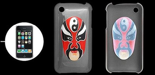 Beijing Opera Mask Style iPhone 3G/ 3GS Case