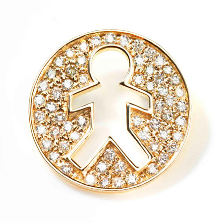 Zachary  .59ct Diamonds 14k Yellow Gold