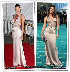 Who wore it better? Carmen v/s Gisele