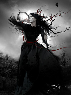 Black as the Dark Night Was, the Devil's Daughter..