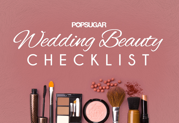 Wedding Hair and Makeup Checklist Printable POPSUGAR ...