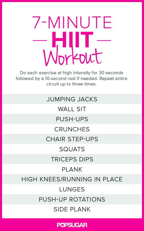 photograph regarding Printable Ab Workouts titled Precisely HIIT It Printable Excess weight Physical exercises POPSUGAR