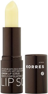 Korres Lemon Lip Scrub Review