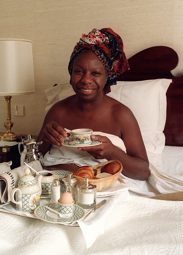Breakfast in Bed After a Concert in Paris, 1988