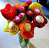 How to Create a DIY Floral Arrangement With Fresh, Edible Vegetables
