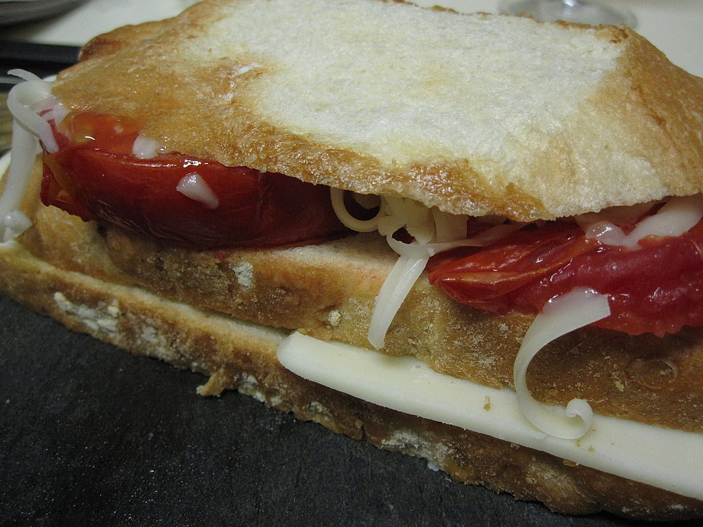 Triple-Decker Baked Italian Cheese Sandwiches