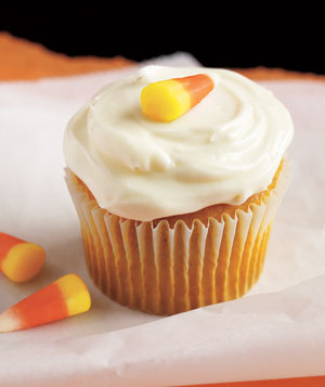 Fast and Easy Pumpkin Cupcake With Cream Cheese Frosting Recipe