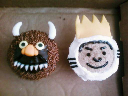 Where the Wild Things Are Cupcakes