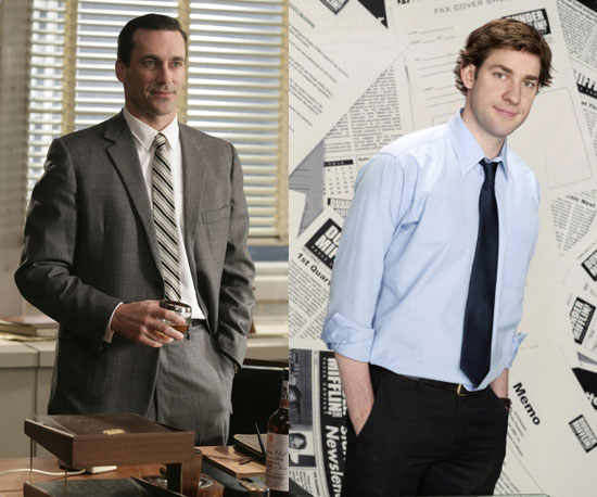 Don Draper = Jim Halpert 