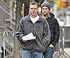 Photo Slide of Matt Damon Filming The Adjustment Bureau in NYC 2009-10-19 05:30:00