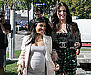 Slide Photo of Kourtney and Khloe Kardashian Walking in LA