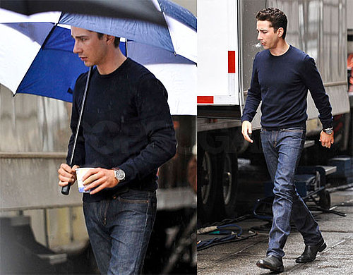Photos of Shia LaBeouf on the Wall Street 2 Set in NYC 2009-10-16 04:00:00