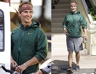 Photos of Matthew McConaughey as He Leaves the Gym in Malibu