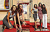Photos of Eva Longoria and Andie MacDowell At Walk of Fame in Hollywood 2009-10-21 08:30:00