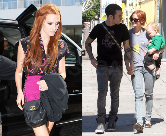 Photos of Ashlee Simpson, Pete and Bronx in LA 2009-10-19 09:56:40