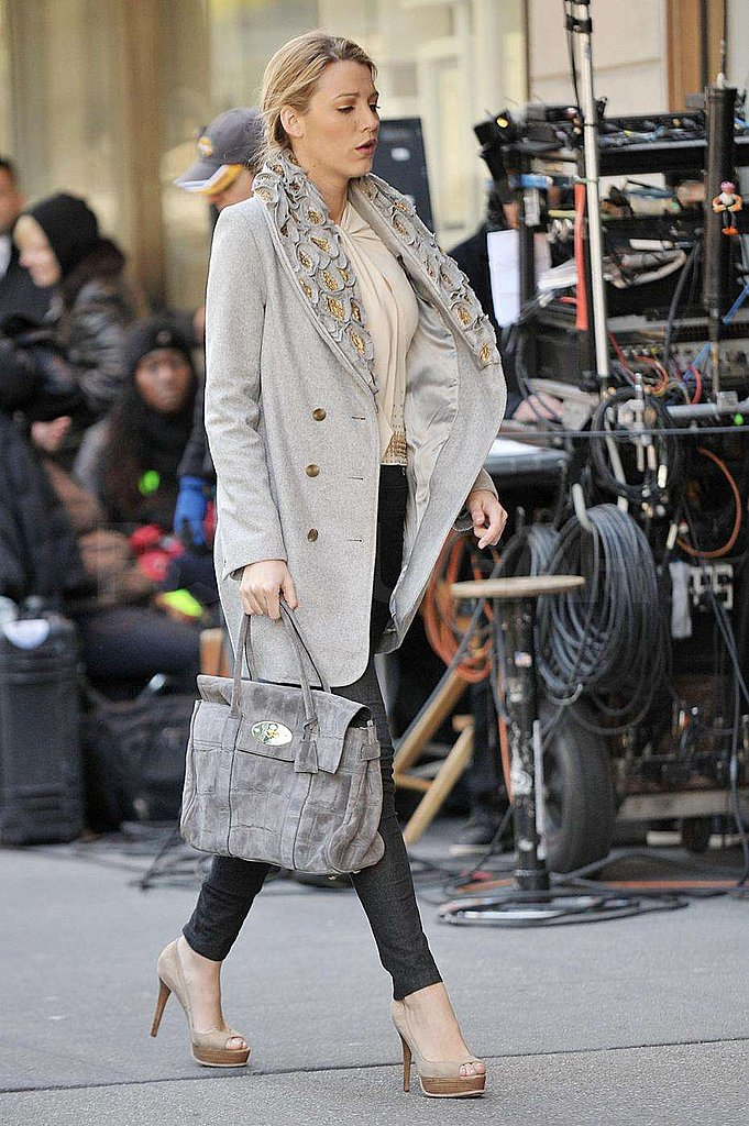 Photos from the set of Gossip Girl