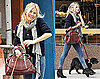 Photos of Sienna Miller Walking Her Dog in NYC 2009-10-21 19:40:52
