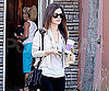 Slide Photo of Rachel Bilson Getting Coffee at Coffee Bean
