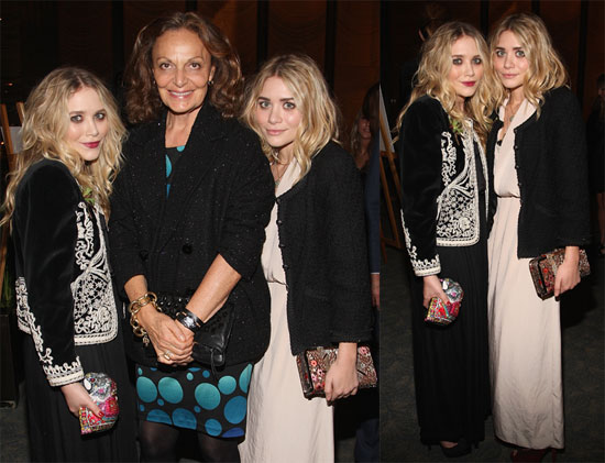 Photos of Mary Kate and Ashley Olsen