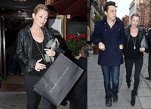 Photos of Kate Moss and Jamie Hince Shopping Together in London at Marc Jacobs