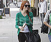 Slide Photo of Ashlee Simpson Shopping in LA