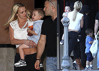 Photos of Britney Spears Bringing Sean Preston And Jayden James to See Where The Wild Things Are in LA