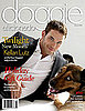 Awesome — Kellan Lutz on the Cover of Doggie Aficionado!