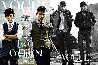 Photos of Josh Hartnett and Lee Byung-hun on the Cover of Korean Vogue