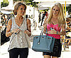 Slide Photo of Audrina Patridge and Heidi Montag Leaving Lunch In LA