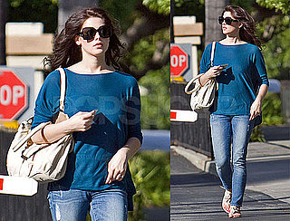 Photos of Ashley Greene Lost Inside Paramount Studios in LA