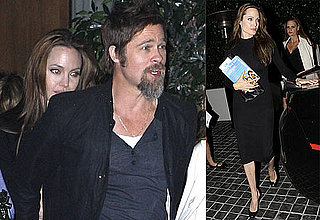 Photos of Brad Pitt and Angelina Jolie Out to Dinner in LA