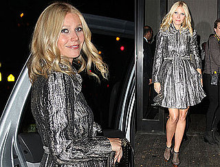 Photos of Gwyneth Paltrow Leaving the NYC Valentino Store