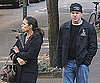 Photo Slide of Matt Damon and Luciana Having Lunch in NYC