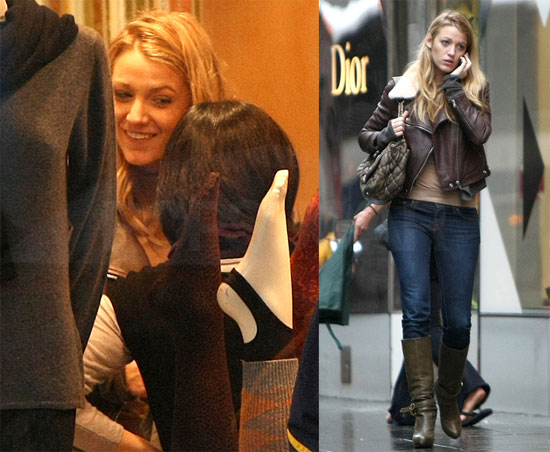 Photos of Blake Lively Shopping in NYC 2009-10-28 08:39:31