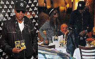 Photos of Jay-Z And Beyonce Knowles Leaving Lunch at Nello's