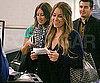 Slide Photo of Lauren Conrad Going Through Security at LAX