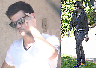 Photos of Kristen Stewart and Taylor Lautner in LA