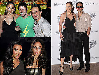 Photos of Jennifer Lopez, Kim Kardashian, and Marc Anthony in Miami