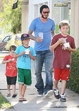 Photos of Beckham and Boys