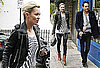 Photos of Kate Moss And Jamie Hince Getting Lunch in London