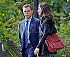 Slide Photo of Matt Damon and Emily Blunt on the Set of The Adjustment Bureau