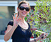Slide Photo of Jennifer Garner Leaving Brentwood Country Mart