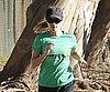 Photo Slide of Reese Witherspoon Jogging in LA