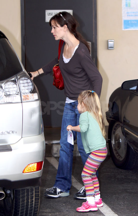 Photos of Jen and Violet