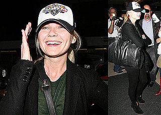 Photos of Kirsten Dunst at LAX