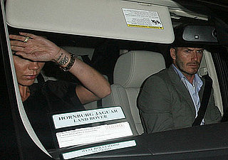 Photos of David and Victoria Beckham Leaving Dinner in LA