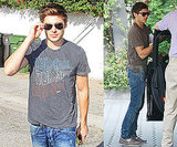 Photos of Zac Efron in LA 2009-11-05 09:41:07